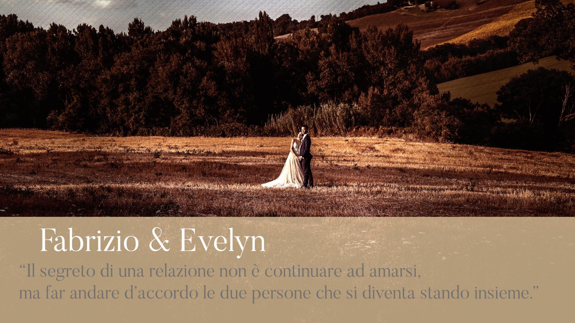 Fabrizio ed Evelyn